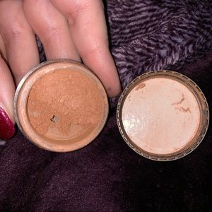 Bare minerals faux tan face powder used twice